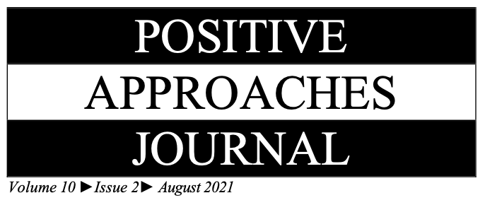 Positive Approaches Journal - Volume 10 - Issue 2 - August 2021